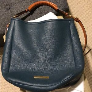 Marc by Marc Jacobs teal shoulder bag